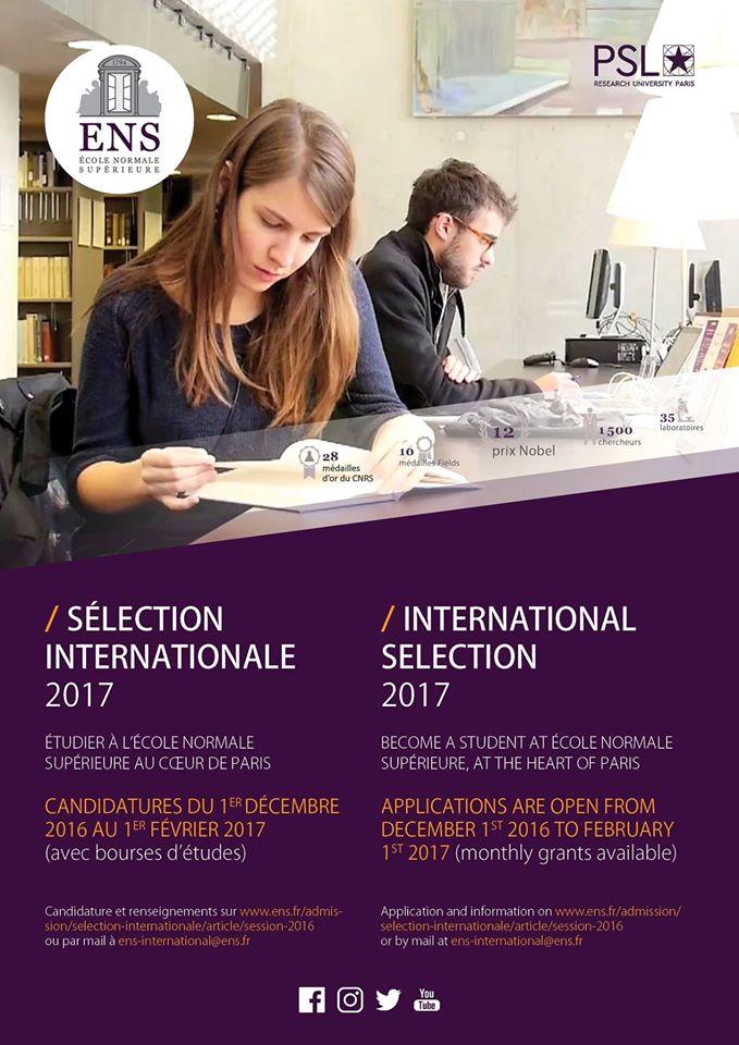 Session 2017 de la s lection internationale de l ecole for Chambre de commerce suisse en france