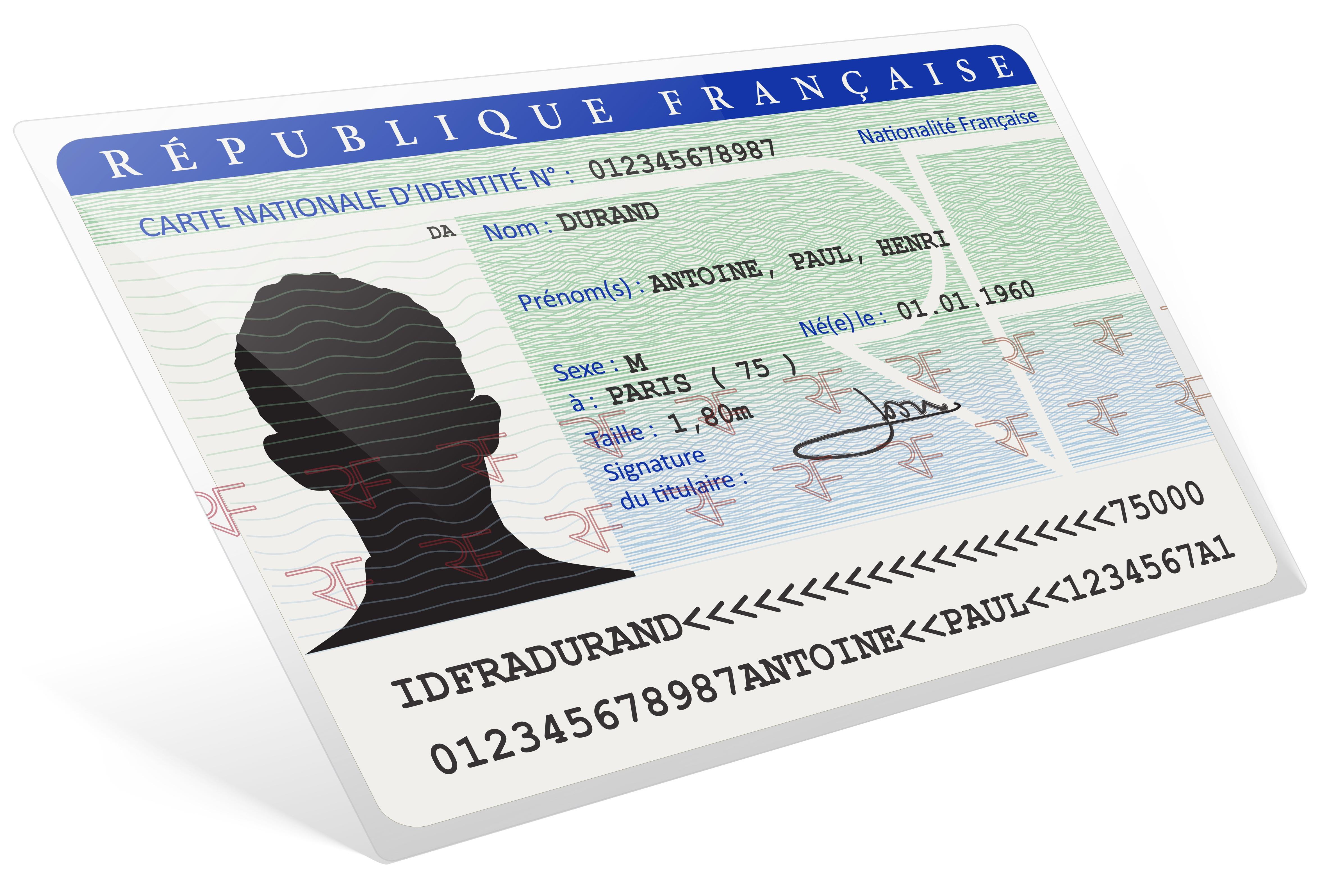demande de carte d identité francaise Nouvelle procédure   Carte nationale d'identité sécurisée   La