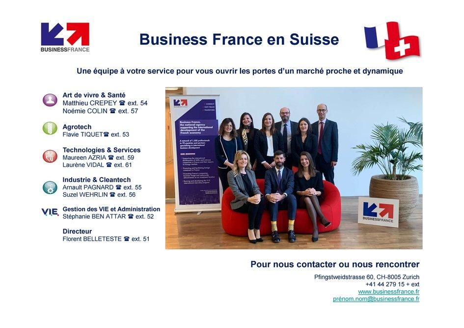 L'Agenda export - Business France